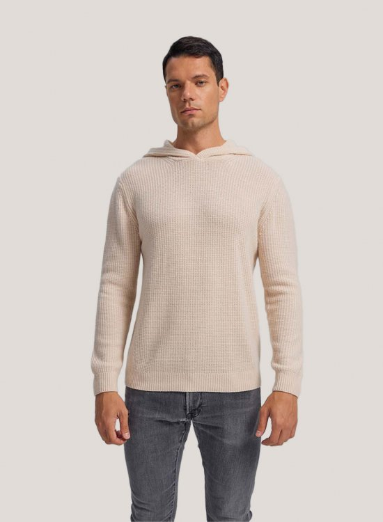 Oversized Cashmere Hoodie