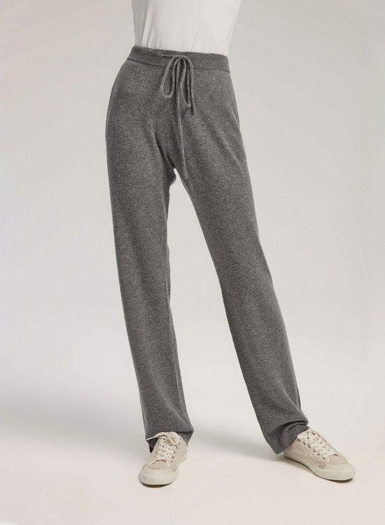 Straight-Leg Cashmere Pants