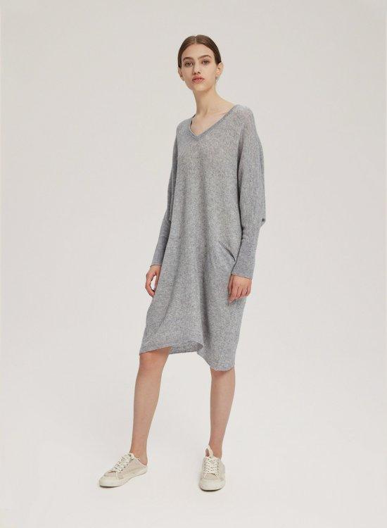 Loose V-Neck Dress