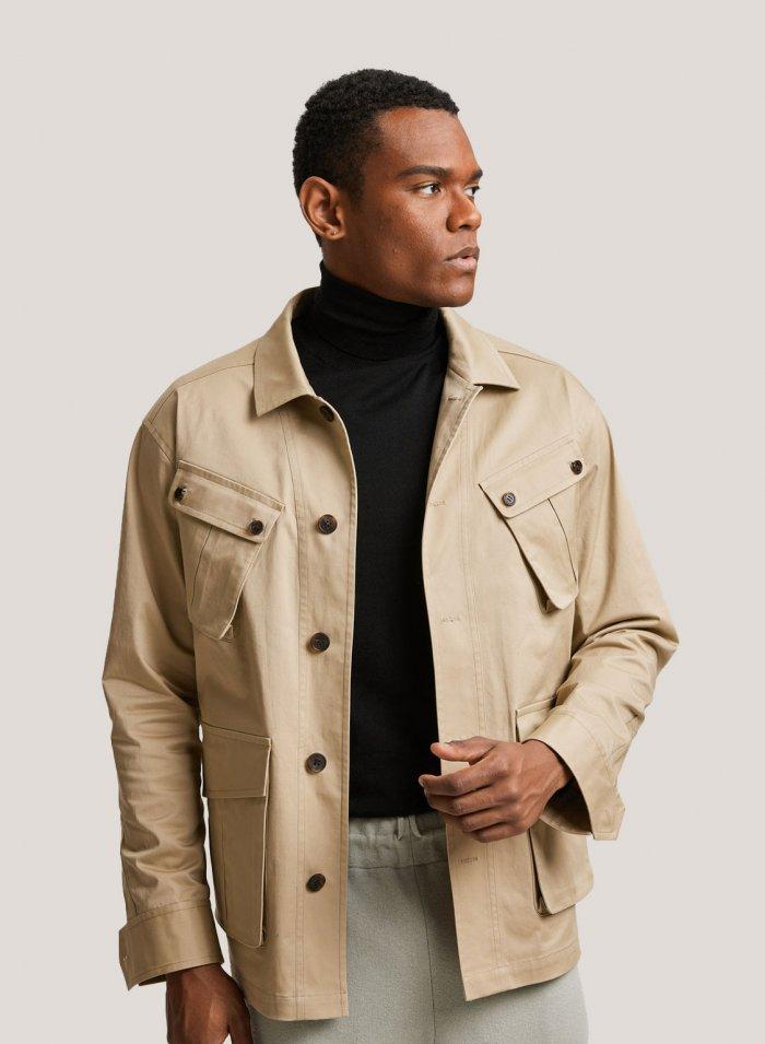 Cotton Lightweight Multi Pocket Jacket
